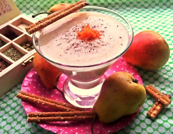 Грушевый смузи с морковью