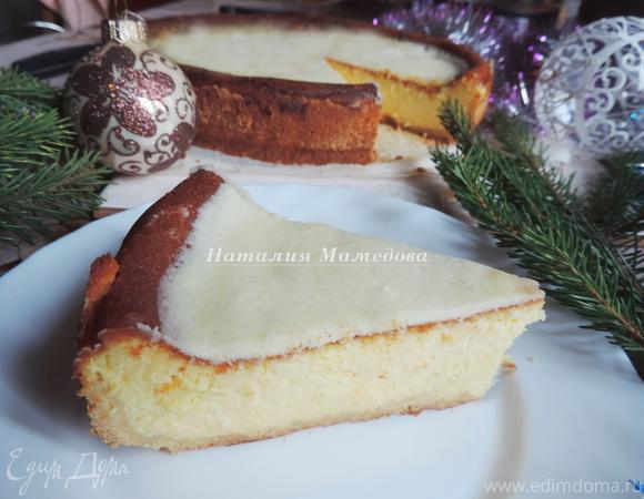 Необычный новогодний чизкейк