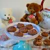 Печенье с шоколадно-ореховой пастой