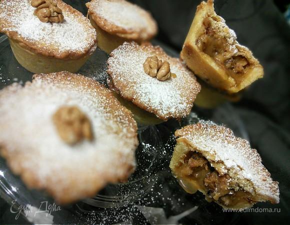 Орехово-карамельный мини-пай