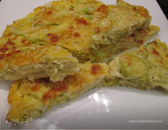 Тосканский пирог с цукини «Скарпачча»