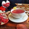 Имбирно-гранатовый чай