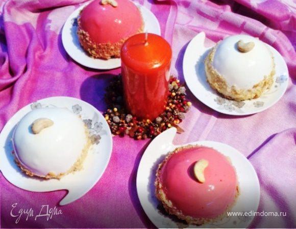 Новогодние закусочные пирожные