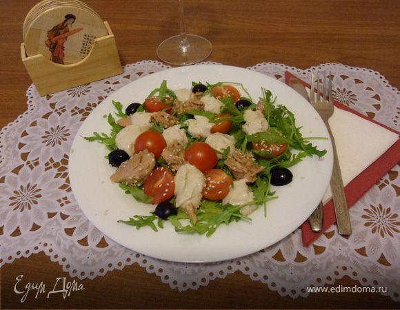 Сицилийский салат с тунцом