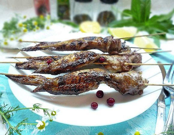 Крылышки-гриль в ягодном маринаде