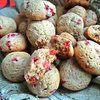 Гречневое печенье с брусникой