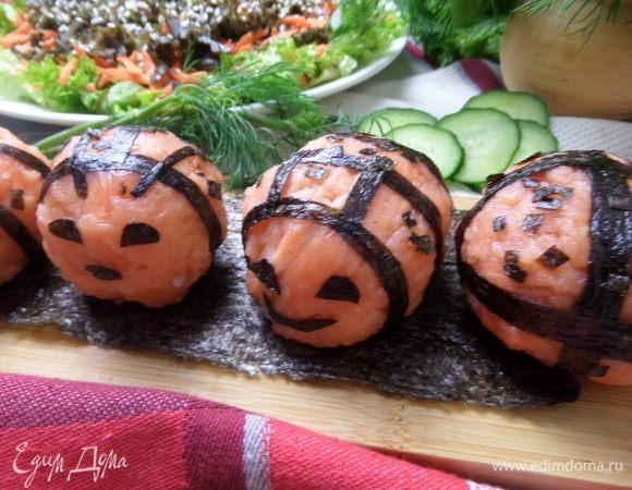 Японская закуска «Онигири»