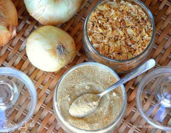 Карамелизированный сушеный лук