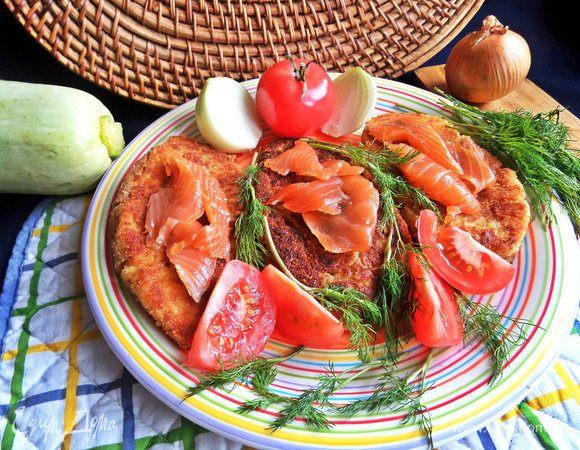 Картофельные котлеты с рыбой