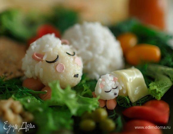 Рисовые овечки