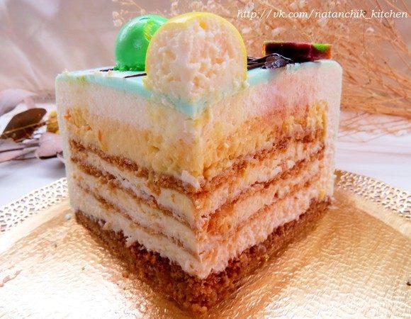 Торт «Современный медовик»