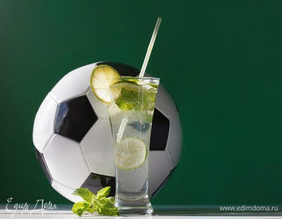 Освежающий лимонад с мятой и лаймом «Гооол!»
