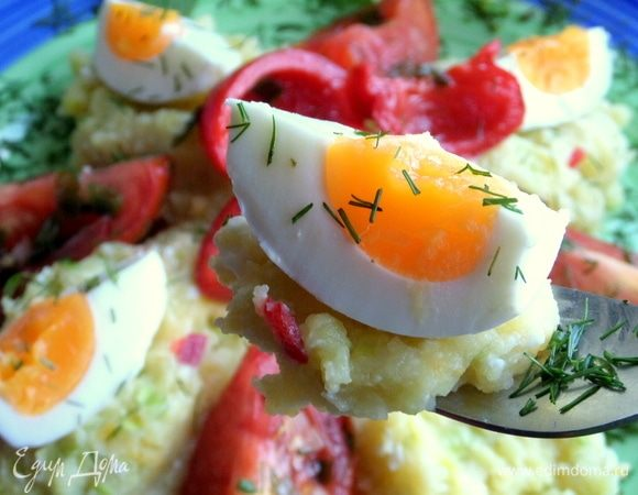 Картофельное пюре «Яичное»