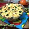 Запеканка с брокколи и шпинатом
