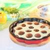 Шоколадный пирог с творожно-ванильной начинкой