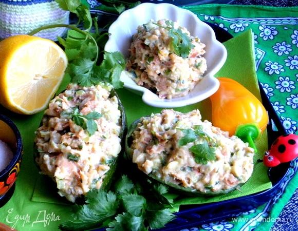 Рыбный паштет с авокадо