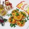 Запеченные тарталетки с курицей и кукурузой