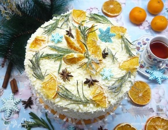 Торт «Морковно-апельсиновый»