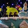 Торт «Малиновое шампанское»