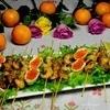 Креветки в рисовой лапше
