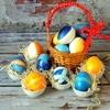 Пасхальные яйца «Игра красок»