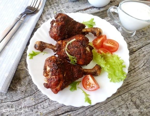 Запеченные куриные ножки с ароматной корочкой