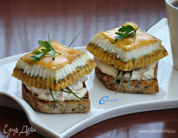 Бутерброд «Завтрак рыбака»
