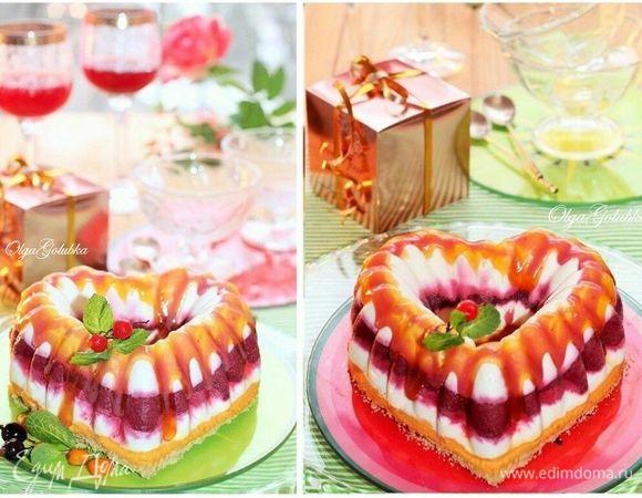 Торт-мороженое «Сердечко»