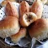 Пирожки с мясом и сливочным сыром