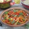 Салат из жареного перца