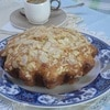 Пряный кекс с грушей и миндалем