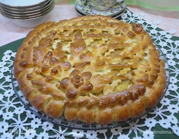 Московский пирог с вареньем