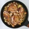 Курица с каштанами по-азербайджански