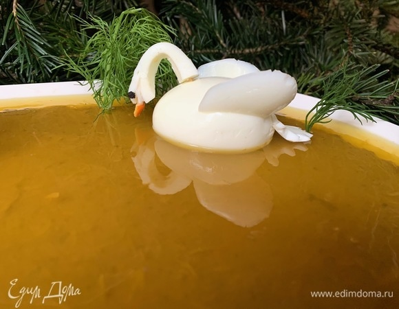 Паштет «Лебединое озеро с апельсином»