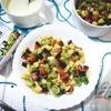 Овсяная каша с фруктовым салатом