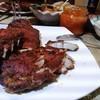 Свиные ребрышки под соусом барбекю