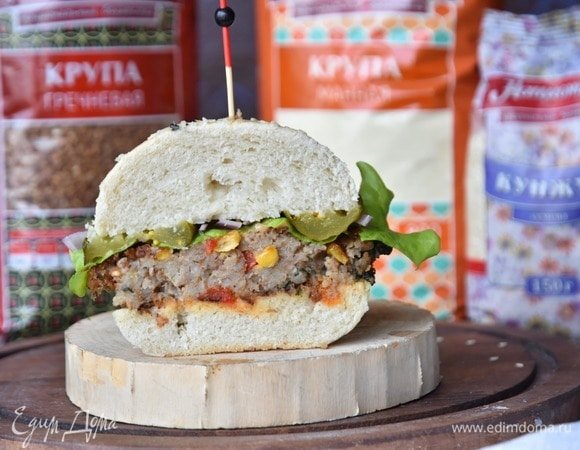 Постный гамбургер