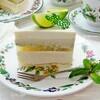 Торт с молочным улуном, лаймом и мятой