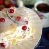 Торт-желе с брусникой
