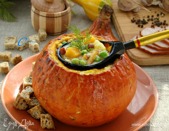 Гороховый суп «Палитра осени»