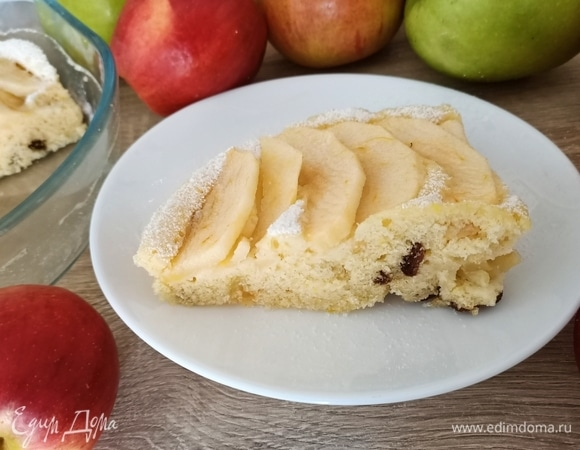 Яблочный пирог в микроволновой печи
