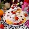 Торт «Новогодняя Павлова»