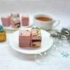 Нарезное пирожное «Клубника-пломбир»