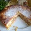 Пирог «Ревень под творожной заливкой»