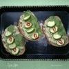 Тосты с гуакамоле и огурцом