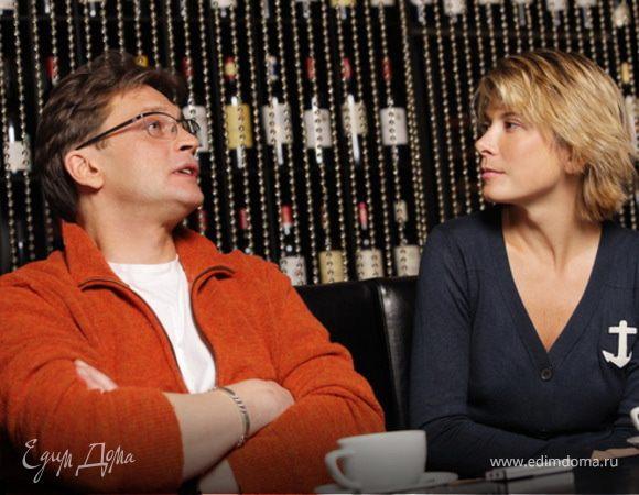 Интервью Юлии Высоцкой с Александром Домогаровым