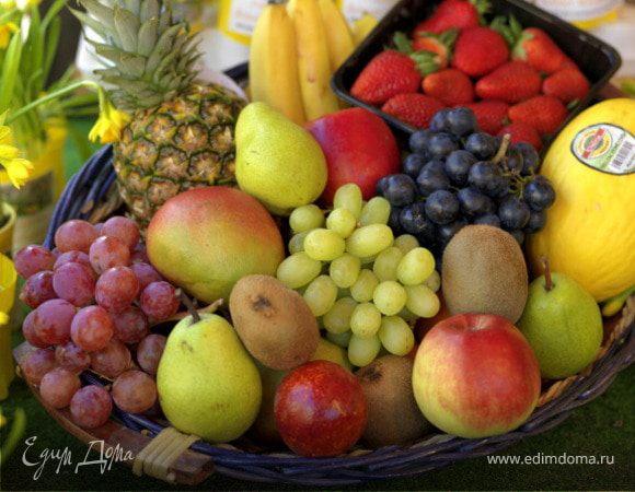 Детский прикорм: овощи-фрукты