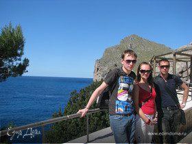 Путешествие в Испанию ровно год назад...