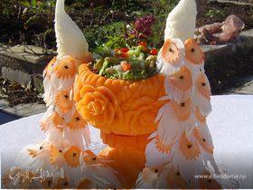 Карвинг -художественная резка по овощам и фруктам