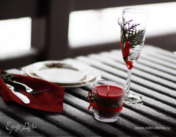 Семь идей украшения новогоднего стола